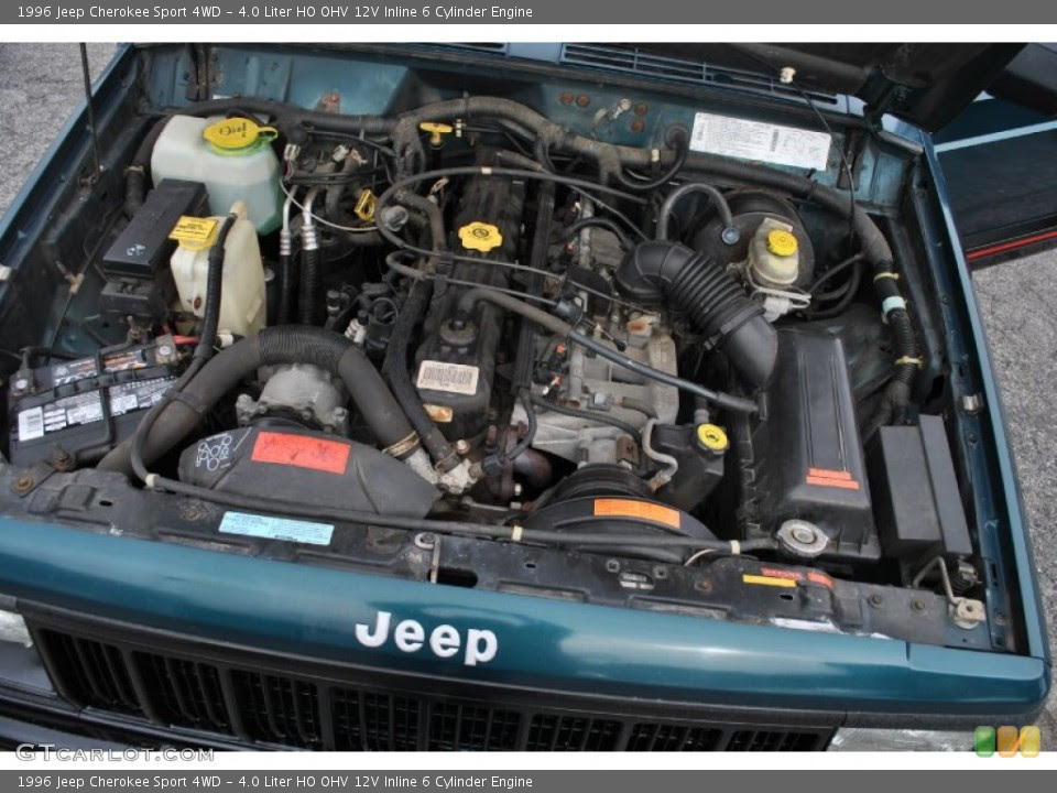 1996 Jeep Cherokee Engine 40 L 6 Cylinder - Top Jeep