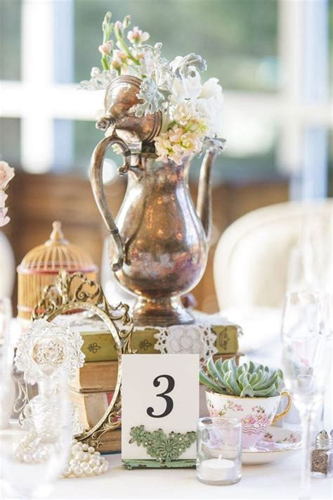 image by rentmydust.com. Vintage table scape one of a kind
