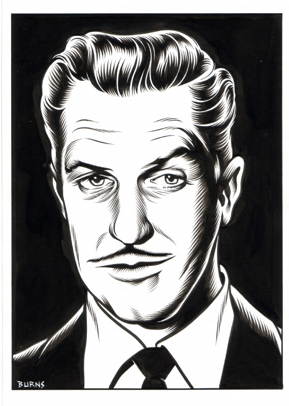 Charles Burns - 32 (Vincent Price)