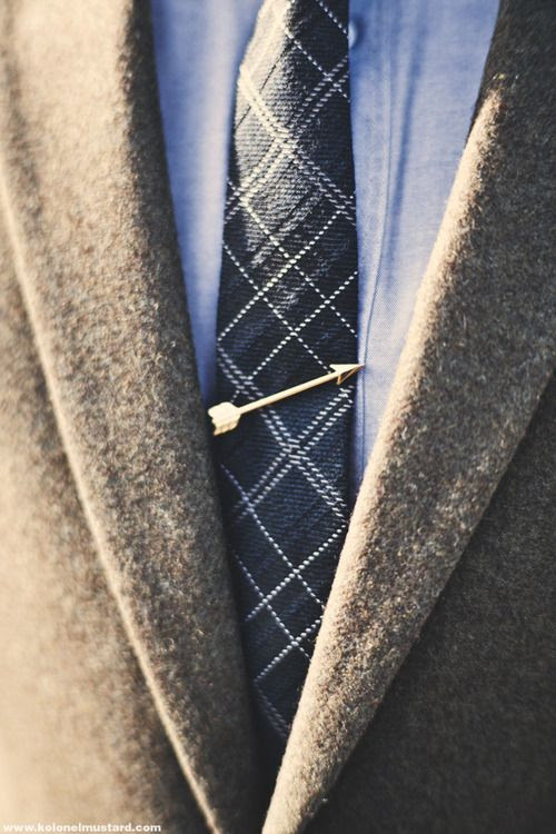 Arrow Tie Bar http://www.merrinandgussy.com/men/the-arrow-tie-bar photo via Kolonel Mustard
