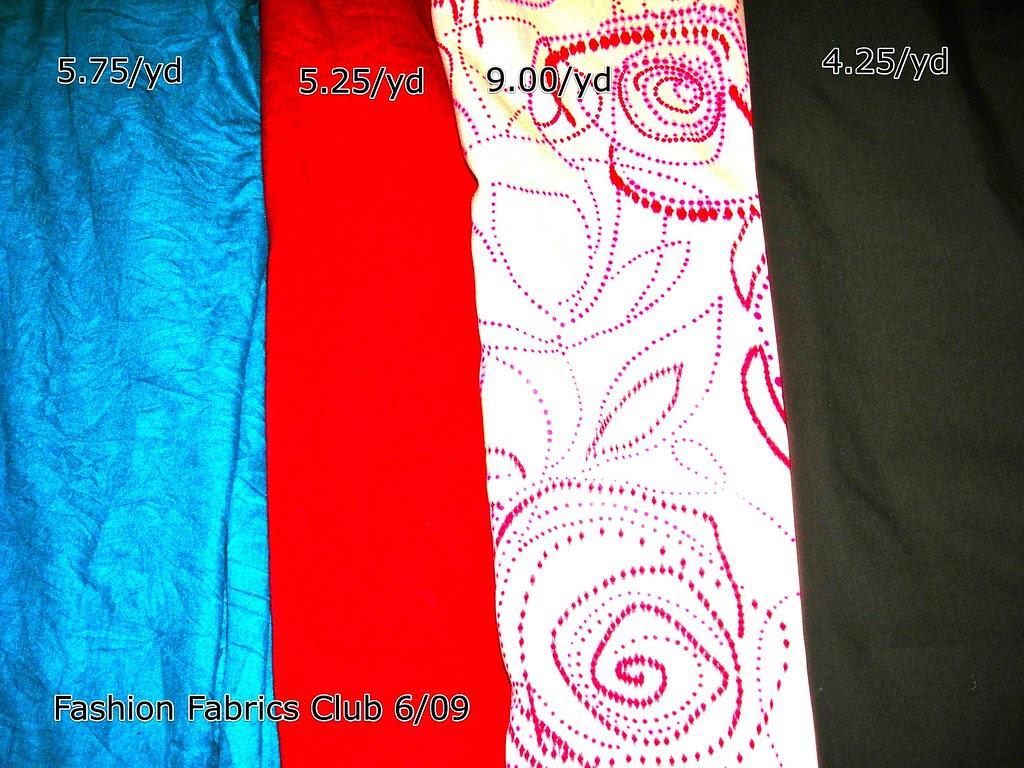 Fashion Fabrics Club 6/09
