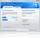 Fenêtre principale de TeamViewer pour Windows