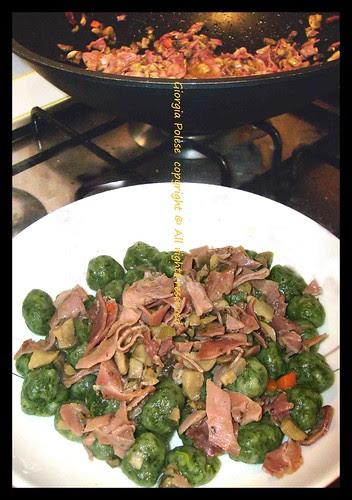 gnocchetti spinaci