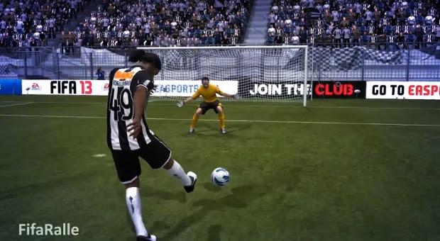 Ronaldinho Gaúcho em FIFA 13 (Foto: Reprodução / FIFA Ralle)