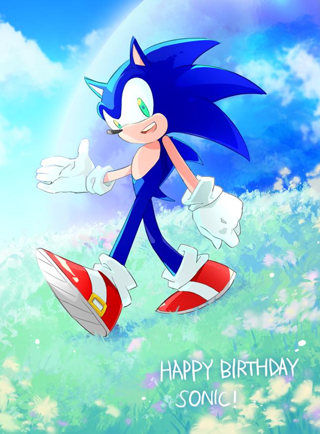 happy birthday SONIC! by sujinee on DeviantArt