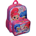 "Nickelodeon Girl Shimmer and Shine 16"" Backpack with Detachable Matching"