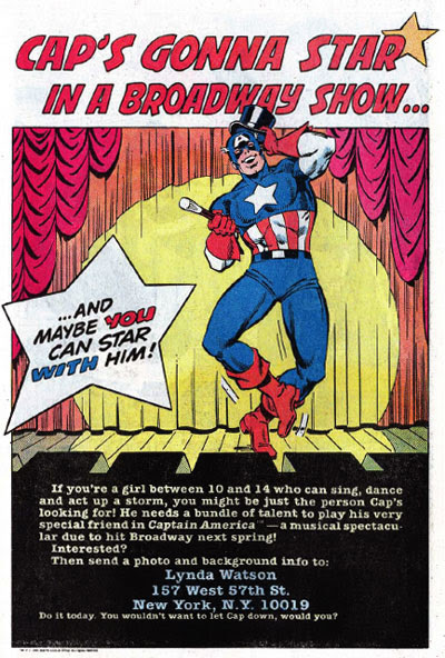Captain America musical