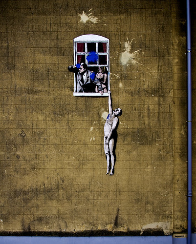 banksy by mr. eightyse7en