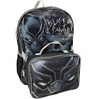 Black Panther Backpack with Detachable Lunch Kit