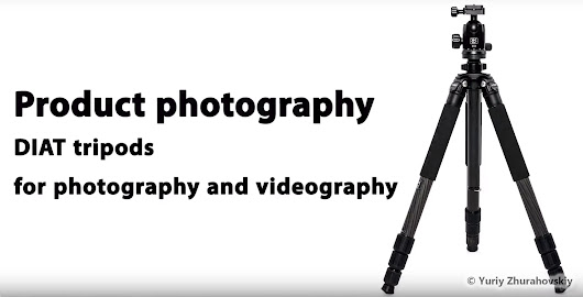 My first product photography backstage video