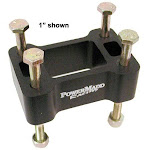 Powermadd Standard Riser Block - Arctic Cat/Polaris - 3""