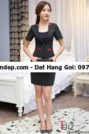 bộ vest nữ trung niên