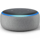 Amazon Echo Dot Smart Speaker - Wireless - Heather Gray