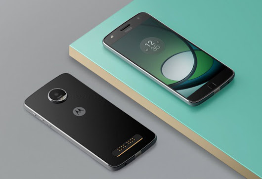 The design of the Moto Z2 Play is shown for the first time in a press photo – HiTechGazette
