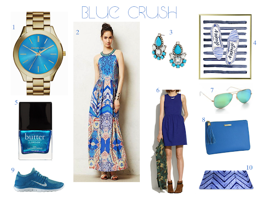 Blue Crush - Saddle & Suede