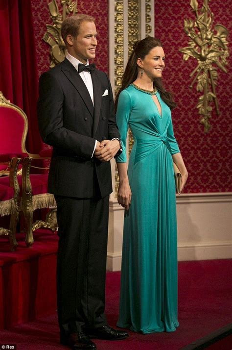 Kate and Wills waxworks get a glamorous makeover   Royal