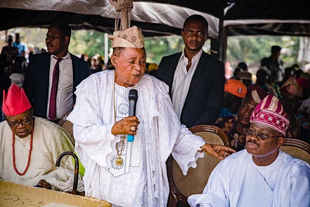 Ajimobi and Alaafin of Oyo
