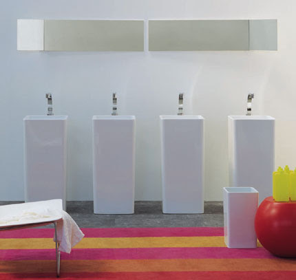 Lavabo pedestal Monowash, baños, decoracion, diseño