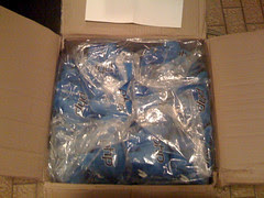 50 elePHPants wrapped in a box