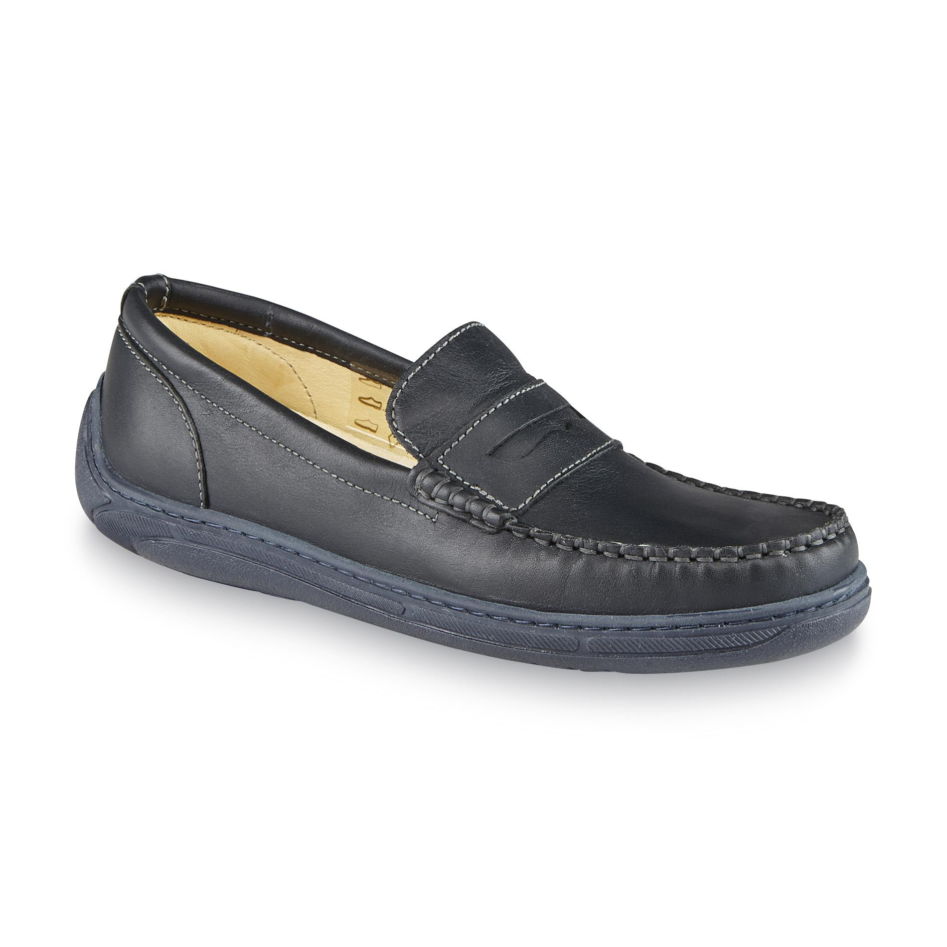 Primigi Boy's Choate Navy Penny Loafer