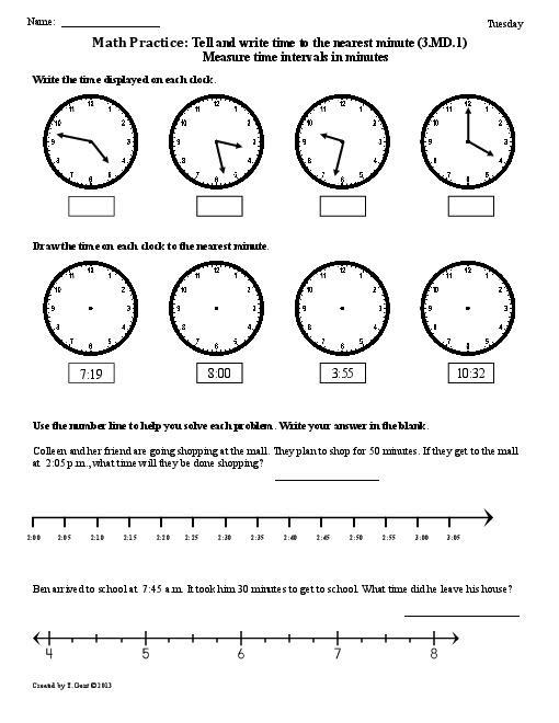 17 Best Images of 1st Grade Clock Worksheets  Telling Time Worksheets 1st Grade, 1st Grade