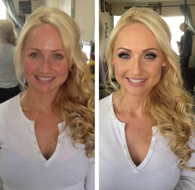 Porque cada vez mais aparece homem processando mulher depois de ver sem maquiagem