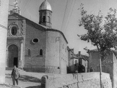 Figura 43. Iglesia vieja de la Asunción de Murchante, hace 50 años.