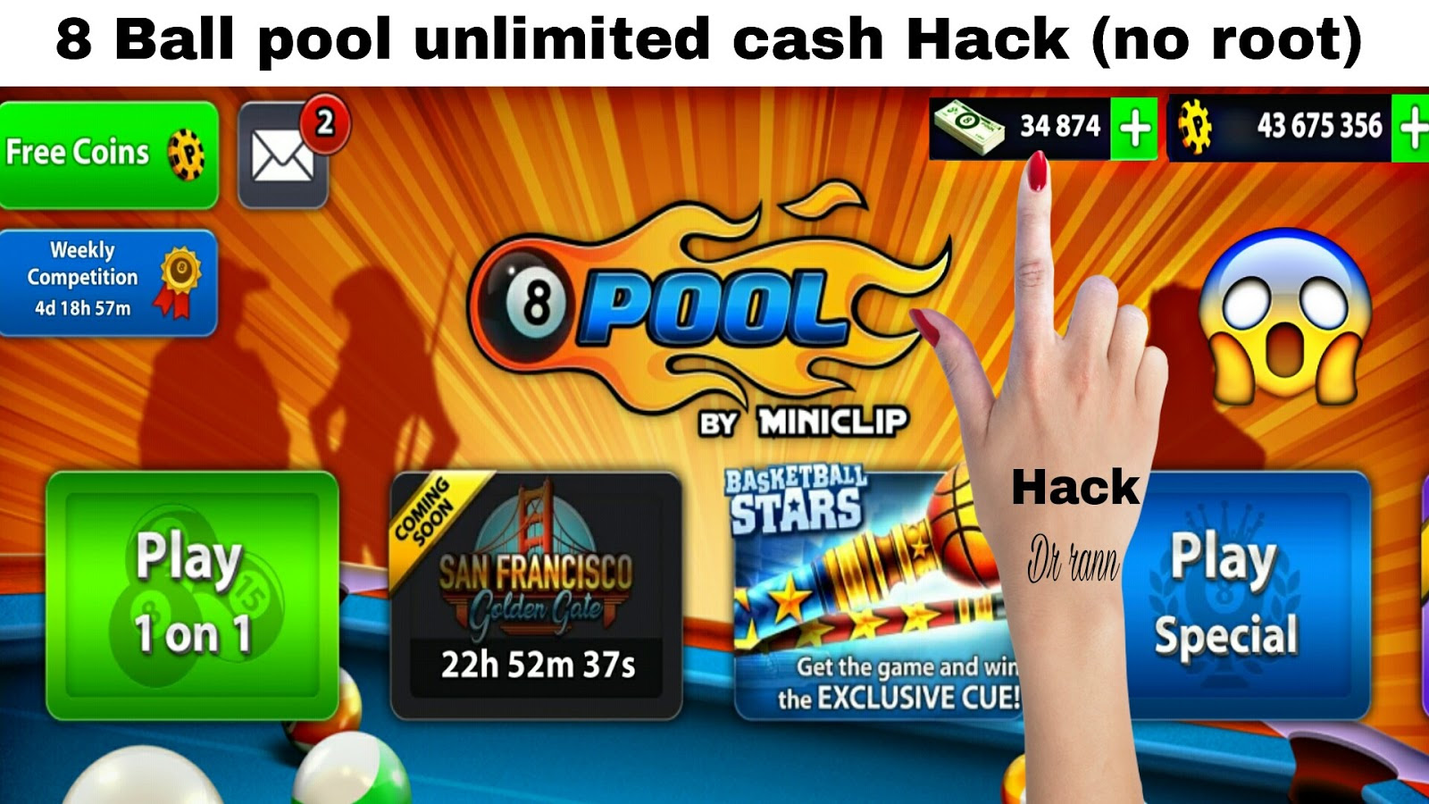 8Ballp.Co 8 Ball Pool Hack Cheats - Grab Coins And Cash ... -