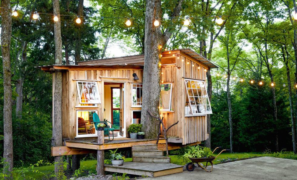 5 Rumah Mini Unik Yang Terlihat Kecil Di Luar Namun Ternyata Menakjubkan Di Dalamnya Furnizing