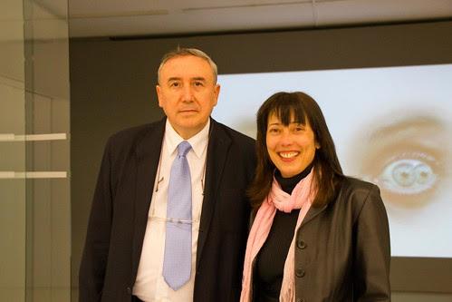 Mikel Agirregabiria y Susana Martínez Ximénez