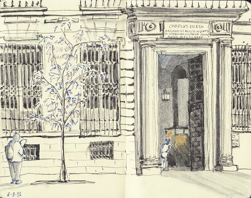 Real Academia de Bellas Artes de San Fernando. by aidibus