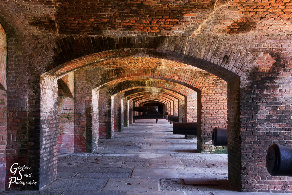 arches of fort zachary taylor key west