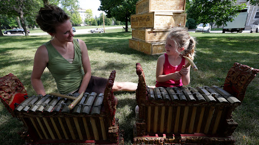 Mile of Music teaches our kids about community
