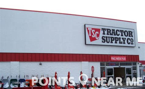 tractor supply   points