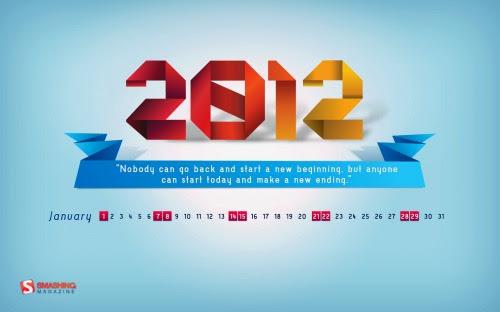 Smashing Desktop Wallpapers - January 2012