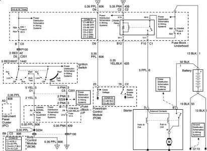 2005 Impala Engine Wiring Diagram