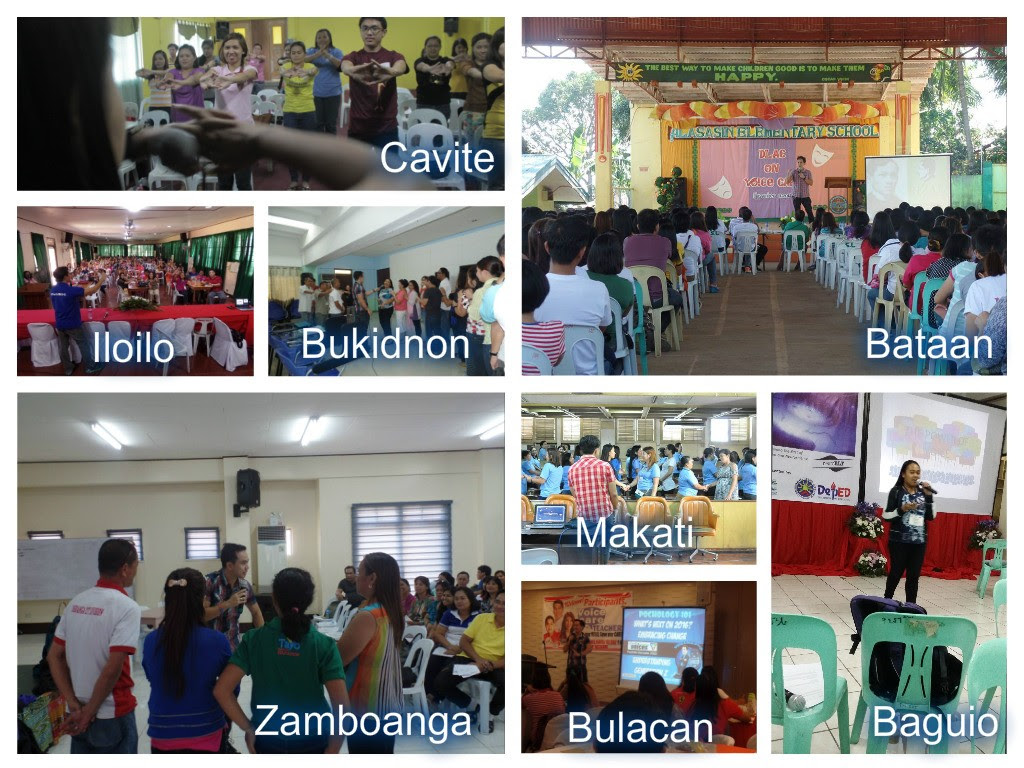 Voice Care for Teachers Workshop all over the Philippines