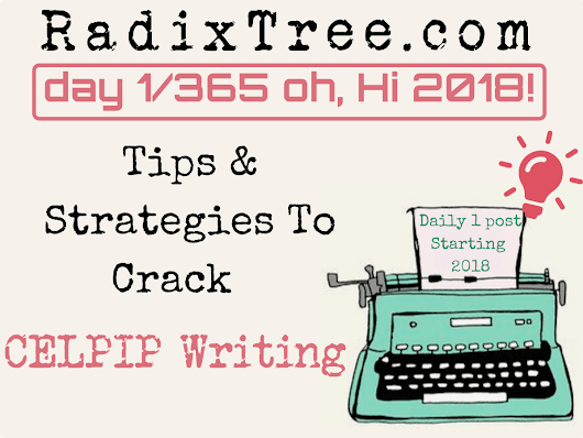 1/365 Strategy To Crack Down CELPIP/CELBAN Test - Radix Tree Online Tutoring Services