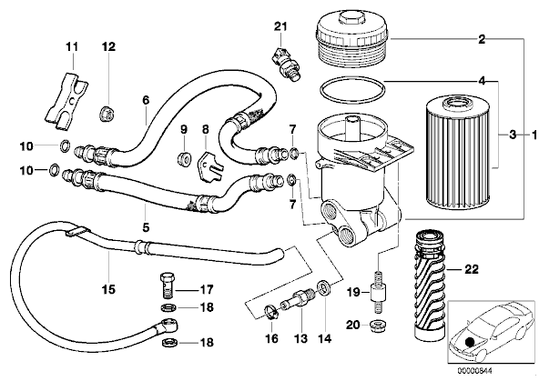 Oil Filter Mount Question