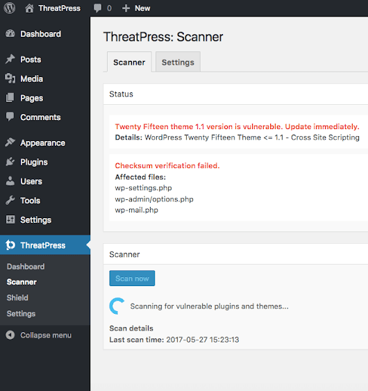WordPress Security Plugin by ThreatPress - JustWP