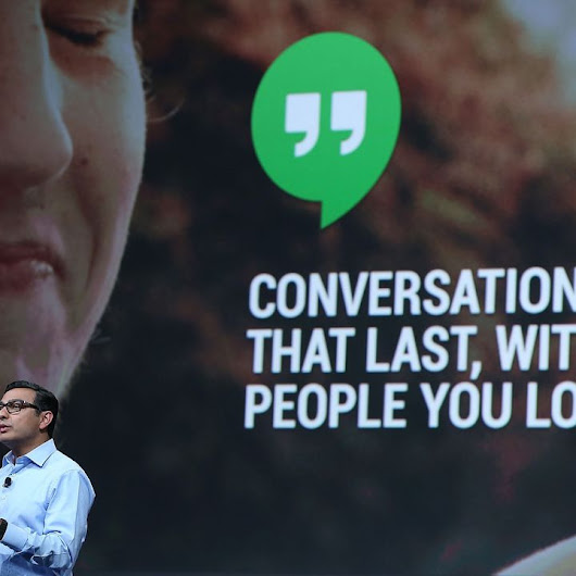 Google Hangouts App: One Giant Leap for Chat Kind