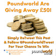 Twitter / PoundworldTweet: RT & Follow for your chance ...