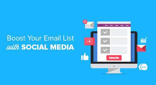 How to Use Social Media to Boost Email Subscribers in WordPress