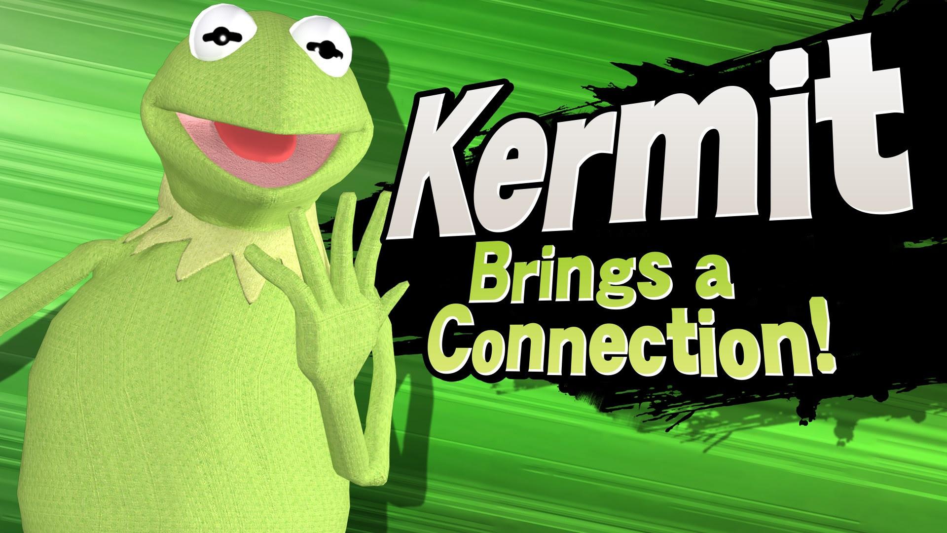 Kermit is back for more in Super Smash Bros. screenshot