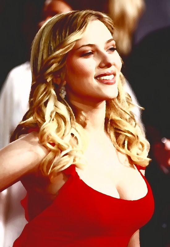 Scarlett Johansson And Out