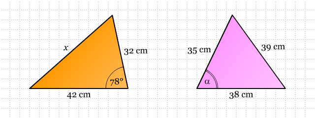 Soal Matematika Aturan Cosinus Materi Pelajaran Komplit