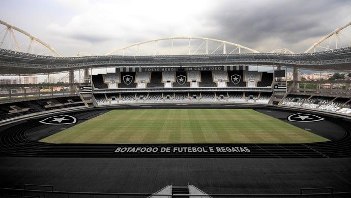 Projeto Nilton Santos Engenhão Botafogo (Foto: Divulgação)