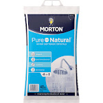Morton Pure and Natural Water Softener Crystals - 40 lb