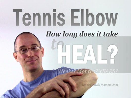 How Long Does It Take Tennis Elbow To Heal?