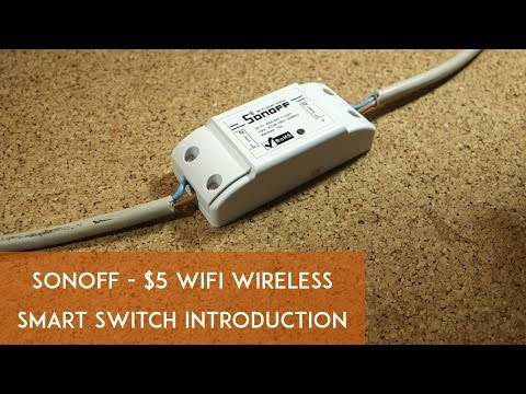 Son of Sonoff: $5 WiFi Wireless Smart Switch via hack a day
